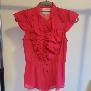 Super feminine ruffled blouse